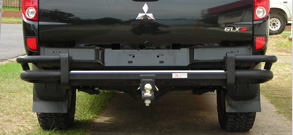 Rear Protection Bar | Box Trailers