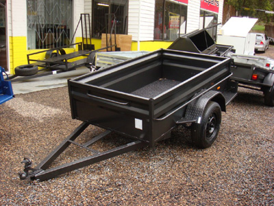 High Sided Box Trailers | Box Trailers central coast