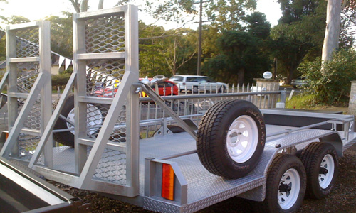 Plant Trailers | Machinery Trailers central coast
